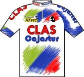 Clas - Cajastur 1993 shirt