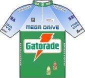 Gatorade - Mega Drive - Kenwood 1993 shirt