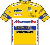 Mercatone Uno - Medeghini - Zucchini 1993 shirt
