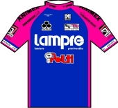 Lampre - Polti 1993 shirt