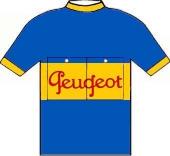 Peugeot - Dunlop 1954 shirt