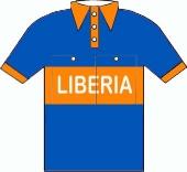 Libéria 1954 shirt