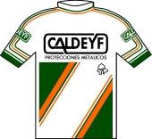 Caldeyf Construciones 1988 shirt