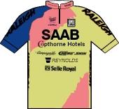 Raleigh - Saab 1991 shirt