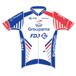 Groupama - FDJ 2018 shirt