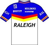 Raleigh - Weinmann 1986 shirt