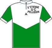 Saint Etienne - U.C. Pélussin 1983 shirt