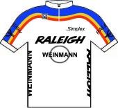 Raleigh - Weinmann 1985 shirt