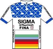 Sigma - Fina 1987 shirt