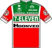 7-Eleven - Hoonved 1987 shirt