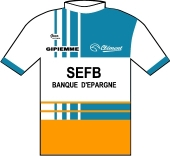 S.E.F.B. - Gipiemme 1987 shirt