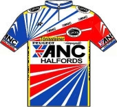 ANC - Halfords - Eurosquad 1987 shirt