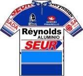 Reynolds - Seur - TS Batteries 1987 shirt