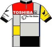 Toshiba - Look - La Vie Claire 1987 shirt