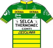Selca - Thermomec - Conti - Galli 1987 shirt