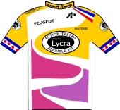 Lycra - Halfords 1987 shirt