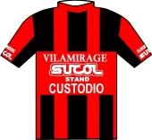 Olhanense - Vila Mirage - Stand Custodio 1987 shirt