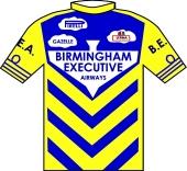 Birmingham Executive Airways 1987 shirt