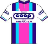 Coop - Mercier - Mavic 1983 shirt