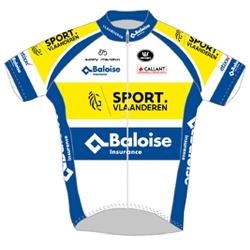 Sport Vlaanderen - Baloise 2019 shirt