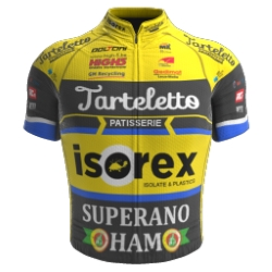 Tarteletto - Isorex 2019 shirt