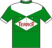 Terrot - Wolber - Hutchinson 1950 shirt