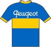 Peugeot - Dunlop 1950 shirt