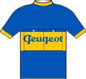 Peugeot - Dunlop 1953 shirt