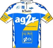Ag2r Prevoyance 2007 shirt