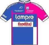 Lampre - Fondital 2007 shirt