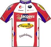 Chocolade Jacques - Topsport Vlaanderen 2007 shirt