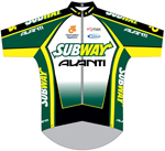 Subway - Avanti Cycling Team 2009 shirt