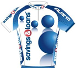 Savings & Loans Cycling Team 2009 shirt
