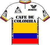 Café de Colombia - Mavic 1989 shirt