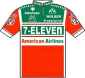 7-Eleven - American Airlines 1989 shirt