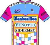 Titanbonifica - Benotto - Sidermec 1989 shirt