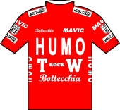 Humo - TW Rock 1989 shirt