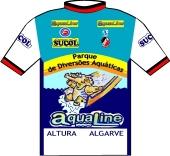 Olhanense - Aqualine - Sucol 1989 shirt