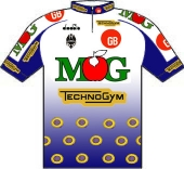 GB - MG Boys Maglificio - Technogym - Bianchi 1994 shirt