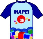 Mapei - GB - Latexco 1995 shirt