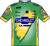 Chevrolet - L.A. Sheriff 1995 shirt