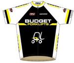 Team Budget Forklifts 2009 shirt