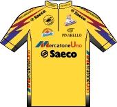 Mercatone Uno - Saeco 1995 shirt