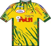 Polti - Granarolo - Santini 1995 shirt