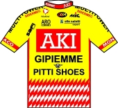Aki - Gipiemme - Pitti Shoes 1995 shirt