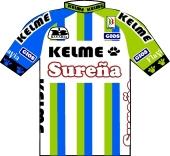 Kelme - Sureña - Avianca 1995 shirt