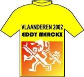 Vlaanderen 2002 - Eddy Merckx 1995 shirt