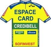 Espace Card - Credibel - S.E.F.B. 1995 shirt