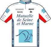 Mutuelle de Seine-et-Marne 1995 shirt
