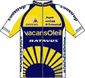 Vacansoleil Pro Cycling Team 2009 shirt